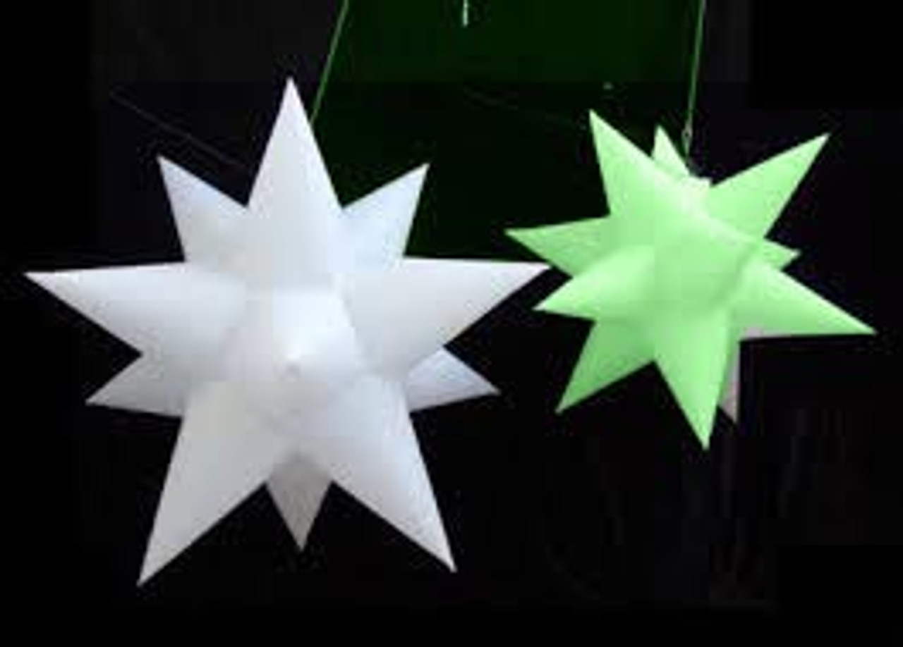 prop, hang, star, ceiling, nightclub, stage, blow up, inflateable, inflatable