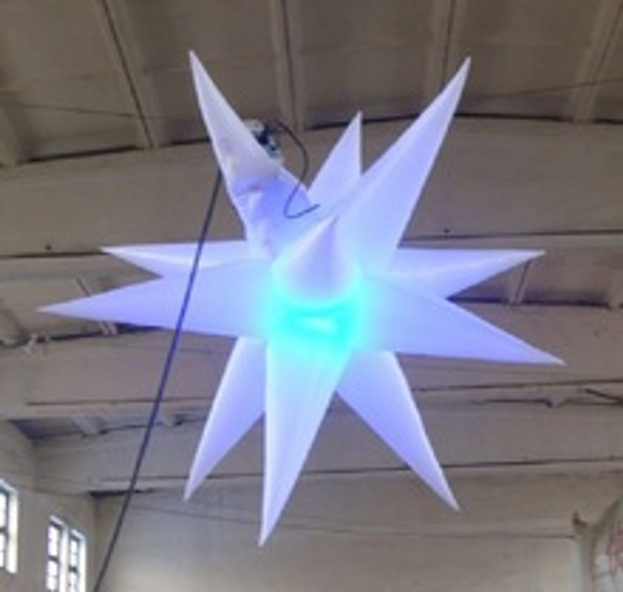 ceiling, star,hang, mount, stage, club, install, tour