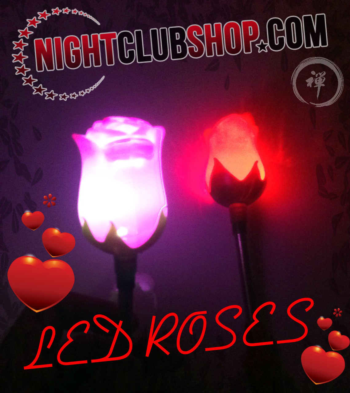 LED Rose, Glow Rose, Rose, LED,flower,Petal, Light up, illuminated,Glow, glowing,  Valentine, valentines, Party favor, Wedding, Keepsake, Ladies Night, Promo, giveaway,sell, dozen,