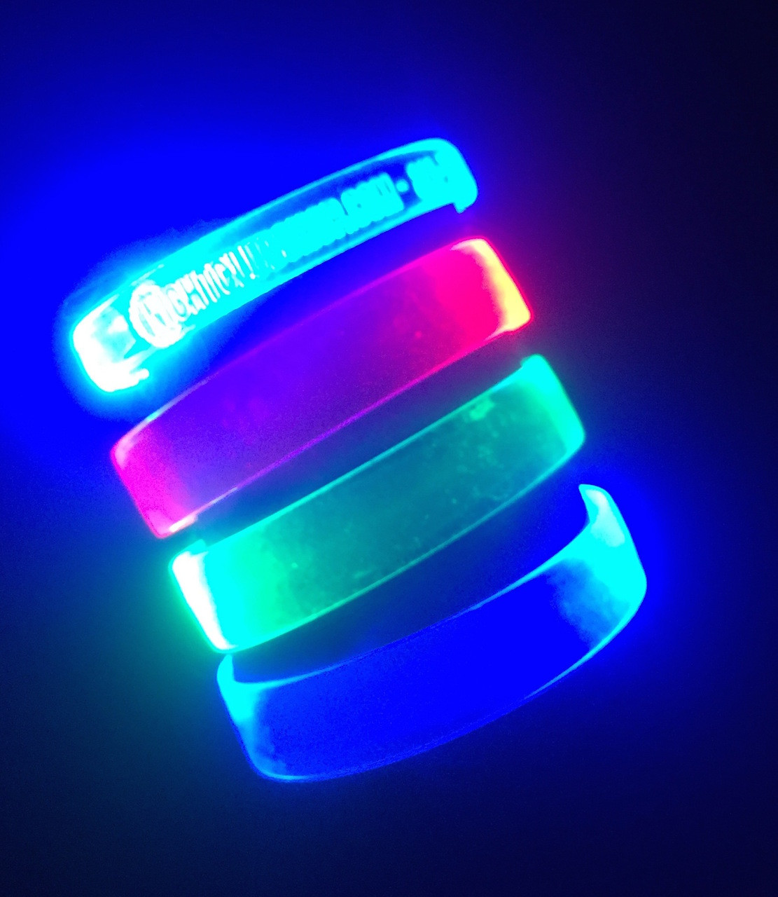 LED_Light up_Glow_Neon_Wrist_band-wristband-LED Bracelet-Bracelet-Blank