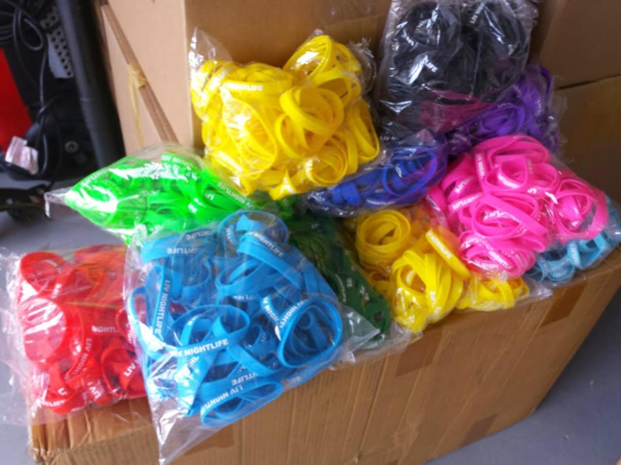 custom, printed, personalized,Glow, Glowing, Wristband, Bracelet,wedding