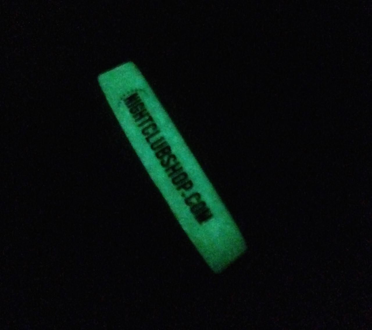custom, printed, personalized,Glow, Glowing, Wristband, Bracelet,Dj, promo, promotional, Branding