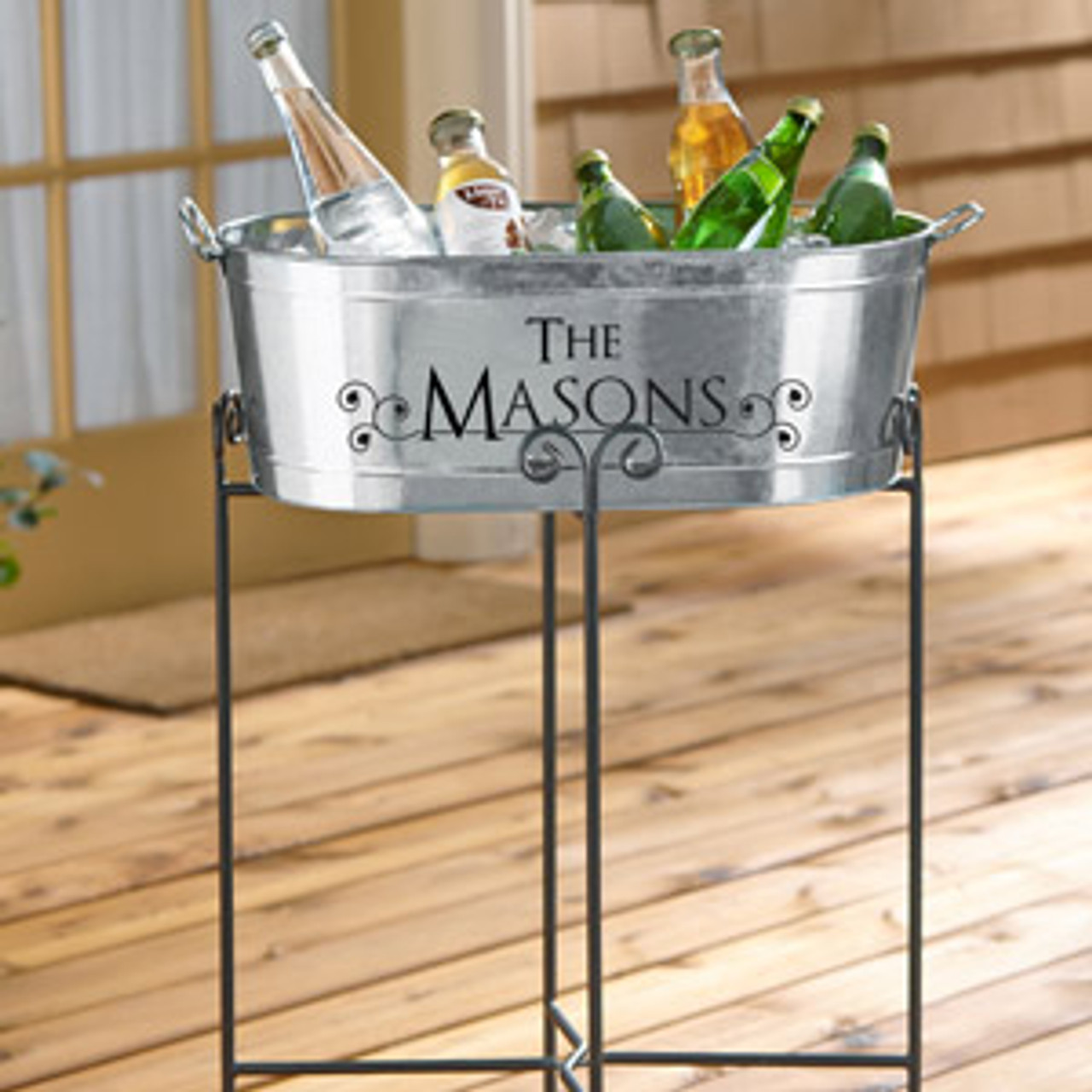 Custom, Personalized, Ice, Beer, Tub, Bucket, Bar, Wedding, Ice-Bucket, Beer Tub, Bar Back, family,home bar