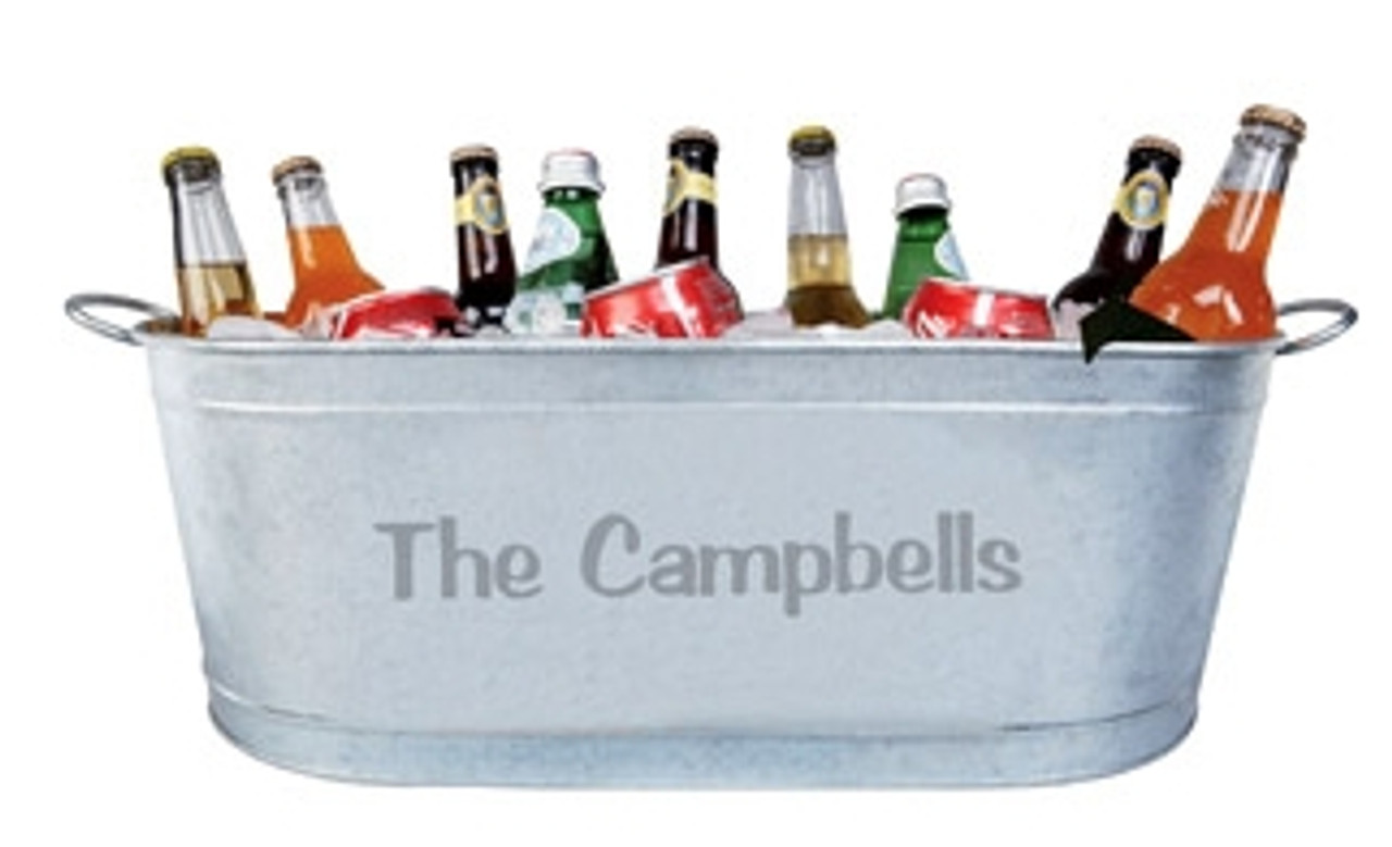 Custom, Personalized, Ice, Beer, Tub, Bucket, Bar, Wedding, Ice-Bucket, Beer Tub, Bar Back,pool party