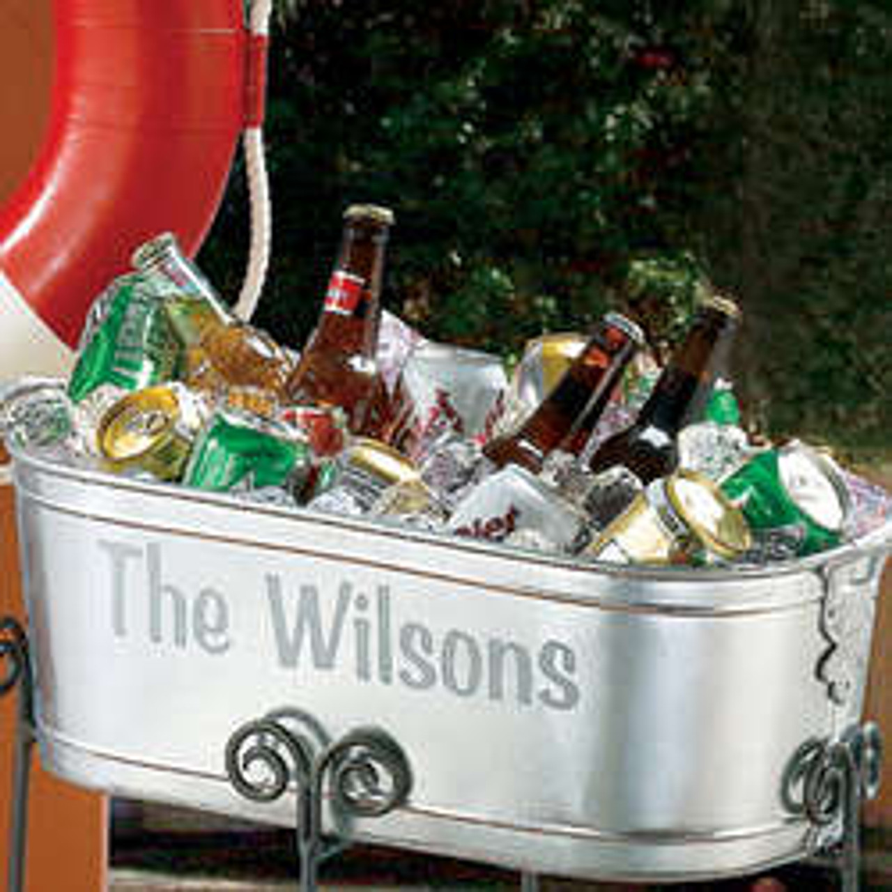 Custom, Personalized, Ice, Beer, Tub, Bucket, Bar, Wedding, Ice-Bucket, Beer Tub, Bar Back,branded, imprinted