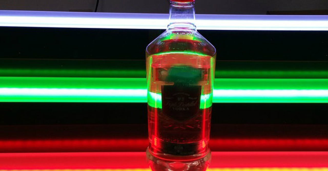 Incredible Led Liquor Shelves 3 Tier Bottle Bar Display Interior Design Ideas Lukepblogthenellocom