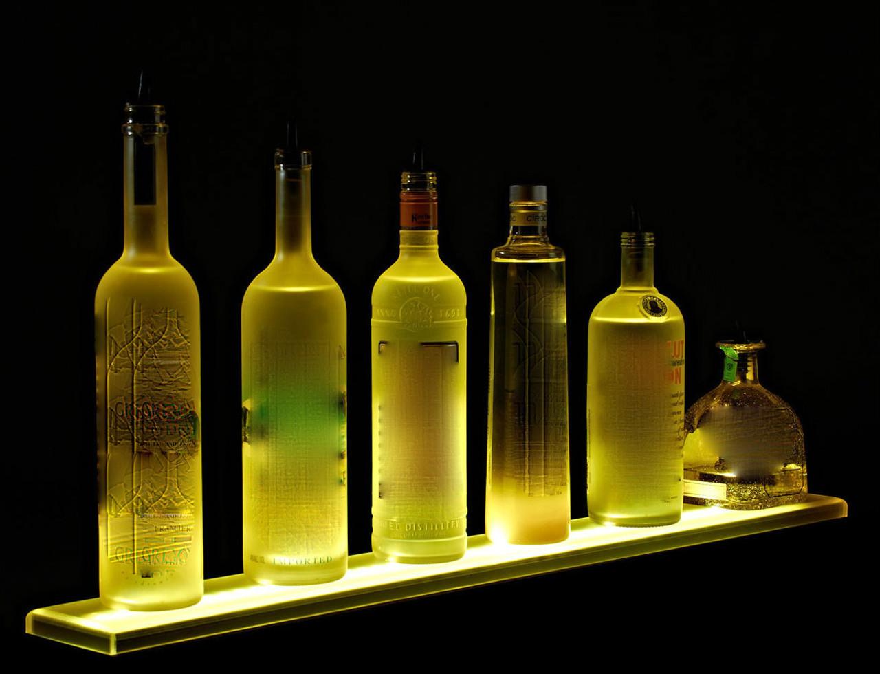 LED LIQUOR DISPLAY,LED, LIQUOR, DISPLAY,single, tier,flat, panel, bar, liquor, shelve,shelf,shelving, glorifier, light up, display, liquor shelf, liquor display