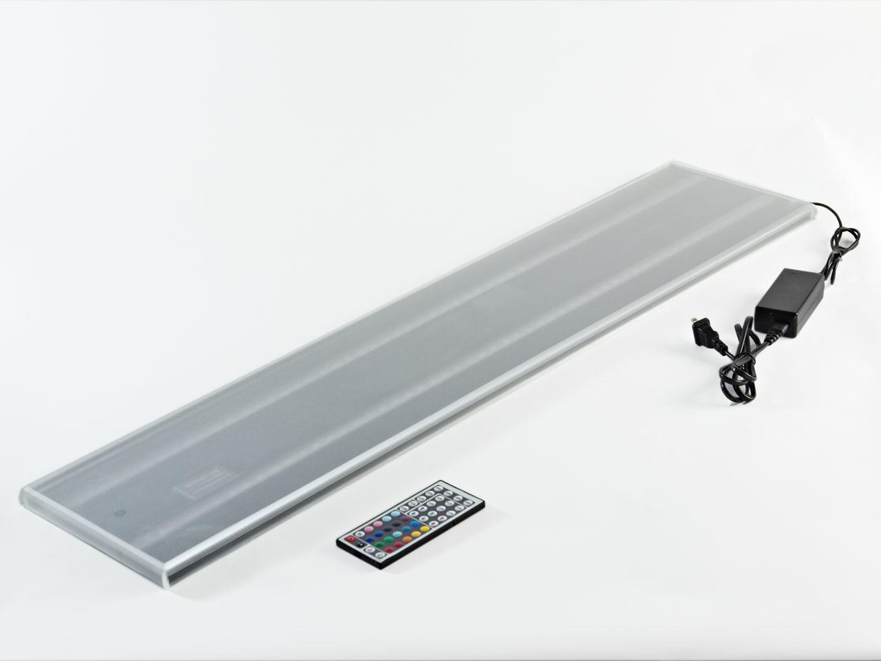 LED LIQUOR SHELF Flat Panel Glorifier - DOUBLE WIDE - Dual Width Modular Bar Display