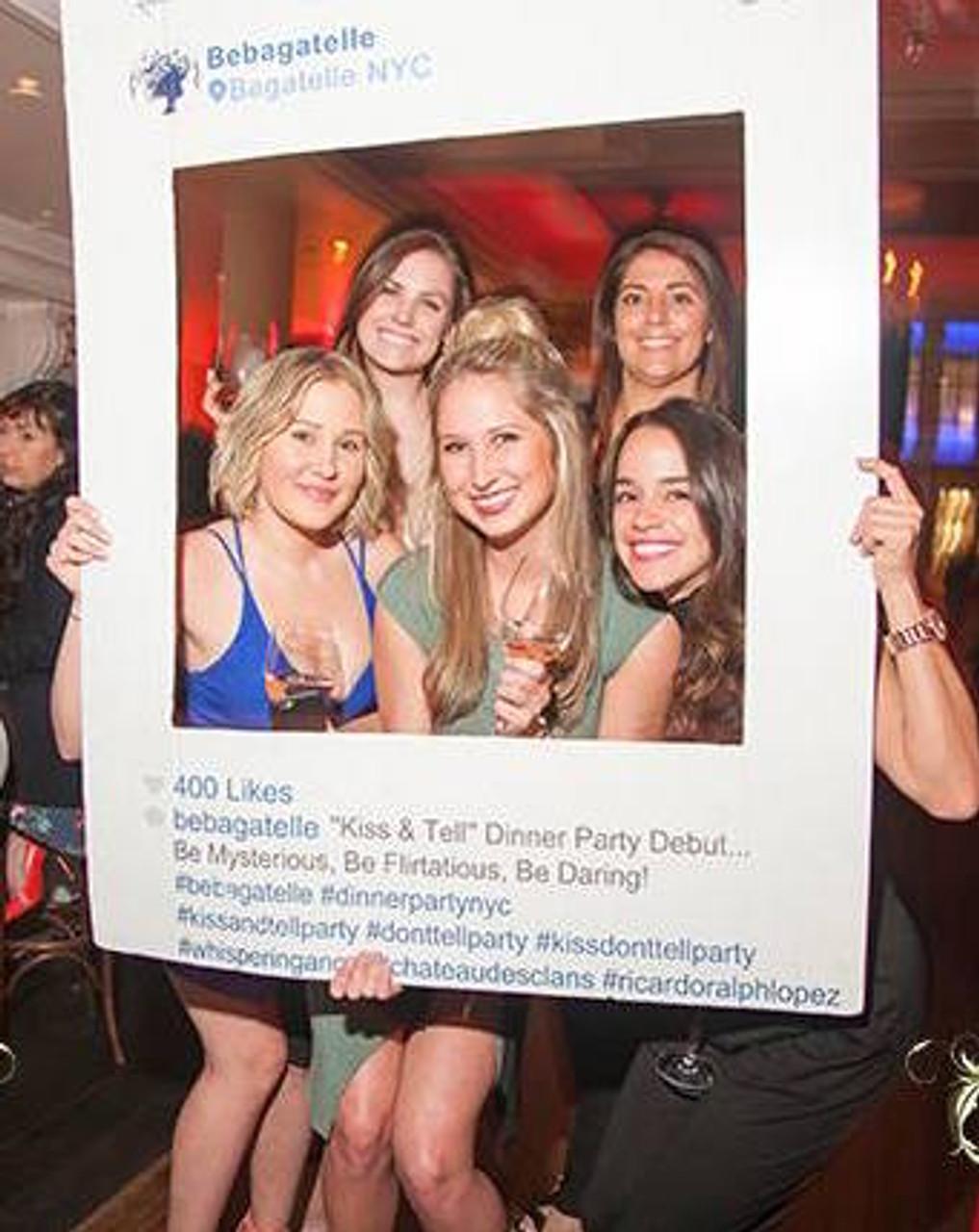 Instagram-Facebook-picture-photo-board-frame-custout-InstaFrame-Prop-Nightclubshop