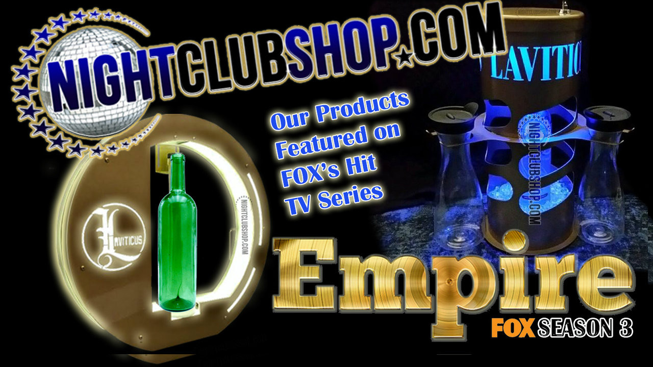 EMPIRE, FOX, Laviticus, Bottle,service,Presenter, NightclubShop, Prop, Bar, caddie,Champagne, VIP, Glorifier
