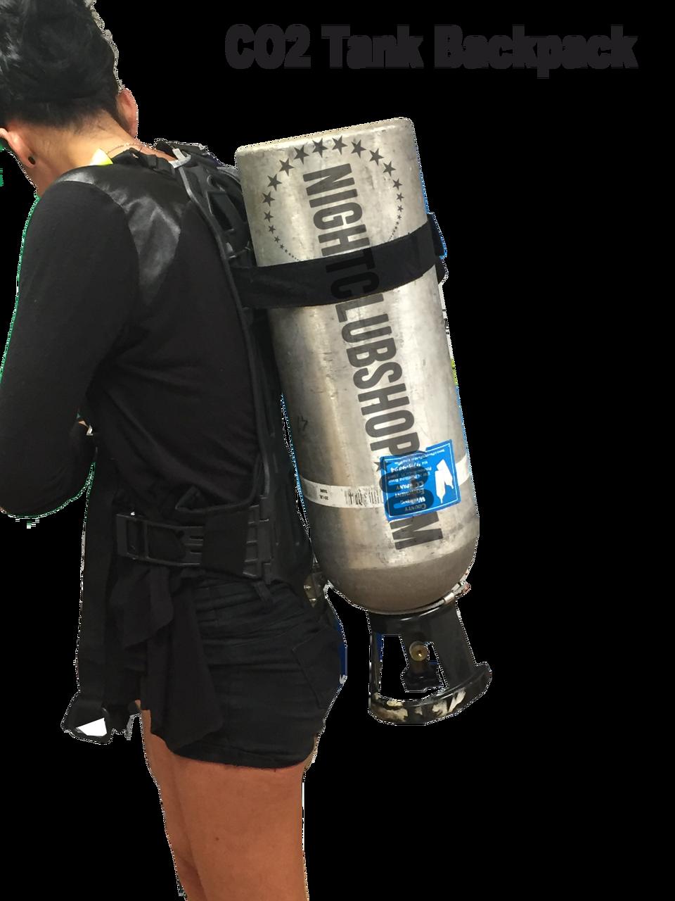 CO2, gas, gun,backpack, nightclub, cylinder, aluminum,20, 20 lb,co2 bazooka, stage,effect,mobile,co2 bazooka, co2 cannon,back pack, co2 gun, back pack, hose,kit,package