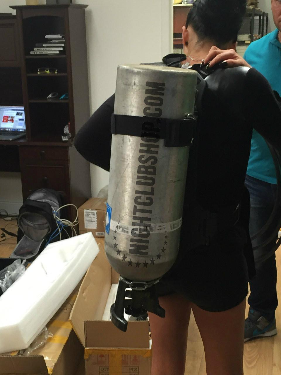 CO2 Tank Backpack