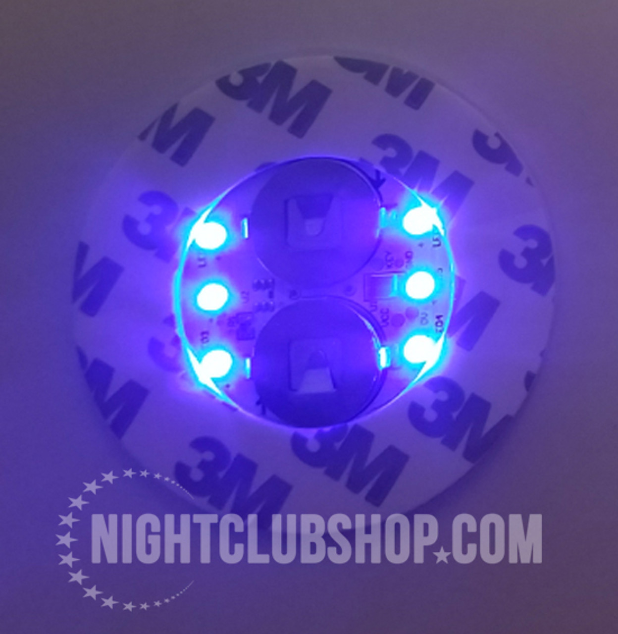 LED,Stick on, Bottle, Glow, Light pad, Sticker,Coaster, Glorifier,coaster, bar bulk, bar, bulk, LED Glow, Light up, Champagne, Liquor, bottles, Bottle Service, Mini-glow glorifier, illuminted, Blue, Blue LED