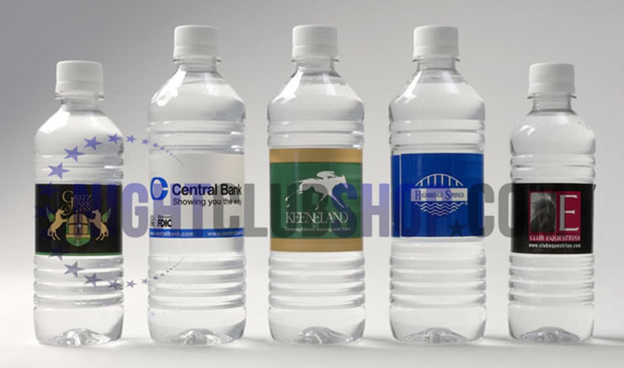 """CUSTOM WATER BOTTLE SELF ADHESIVE LABELS 1.25"""" x 8.5"""" BAR/BAT MITZVAH"""