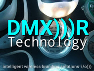 "DMX)))R DMX RF ""Remote Glow"" Technology"