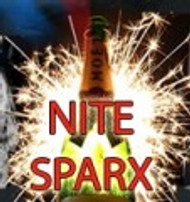 NITE SPARX Traditional and Electronic LED Bottle Sparkler