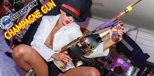 ChampagneGun,Champagne,Gun,Machine Gun, Champagne Showers, Make it Rain Champagne, Champagne squirter,