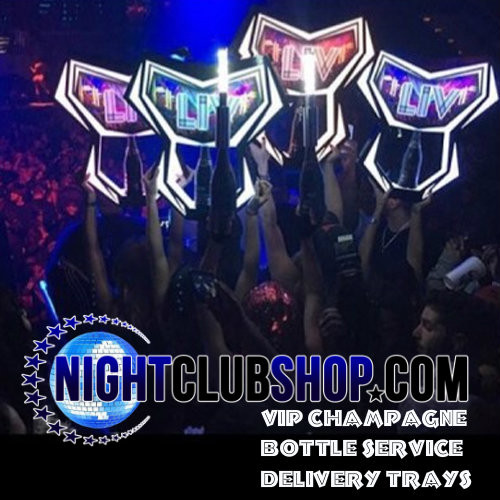 Bottle,Service,Caddie,Tray, presenter, VIP, LED, tray, Dom, FUEL ,BOTTLE PRESENTER, 750 ML, LIV, LED presenter