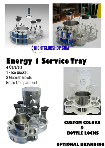 VIP, Bottle, service, Tray, Serving, Bottle Service tray, Champagne