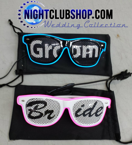 Ultimate, Party, Lenses, Custom, Printed, wedding, Glasses, Glow, LED