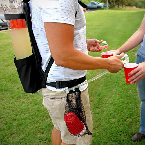 alcohol,  back,  backpack,  backpack, liquor, dispenser,  bar,  club,  cylinder,  dispenser,  dual, back pack, beer, dispenser, or, shot dispenser,  liquor pourer,  lounge,  pack,  shot , single,  travel, liquor,  waiter,  waitress, barback, shotgirl, revenue, generator, tailgate, Backpack keg, keg, beer pong,
