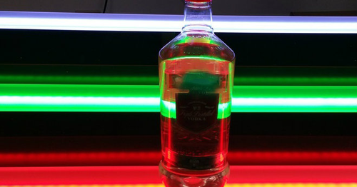 remote controlled, multi-color, illuminated, LED, Bar, Shelf, Liquor, Bottle, Light up, Glorifier, Showcase,Bar top