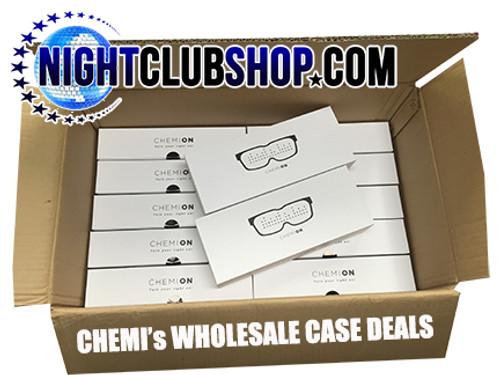 CHEMI,CHEMION, Wholesale, Dealer, Bulk, case, LED glasses