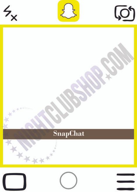 SNAPCHAT BOARD PHOTO BOARD FRAME