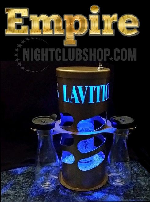 EMPIRE, TV Show, FOX, Club Laviticus, LED, Lock, Locking,cage, champagne, VIP, Bottle Service delivery,