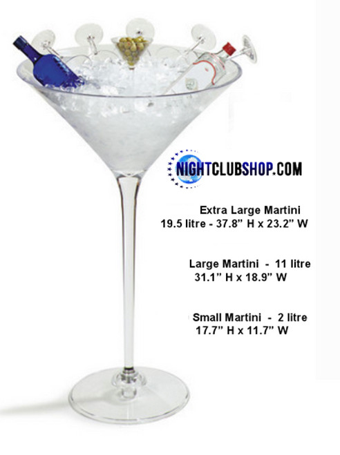 Large, Giant, Jumbo, acrylic, Martini, Glass, Cup, extreme, Big, Bucket