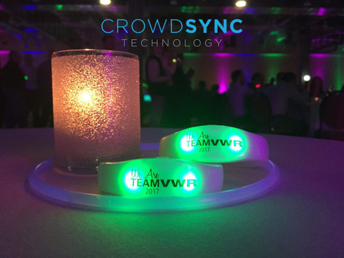 LED, Wristband, RF,Remote,control, LED wristband, wrist, band, Crowdsync, crowd,sync,Radio, Light up,RF