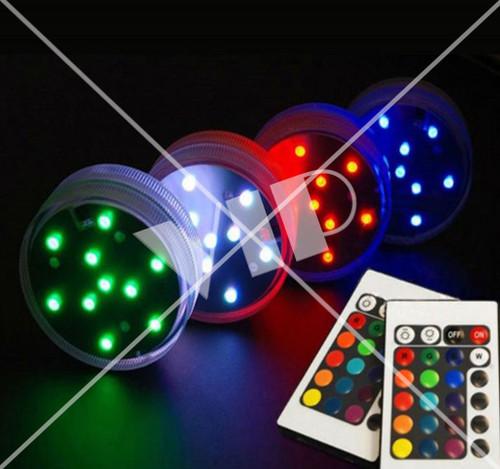 RF Remote LED Pucks