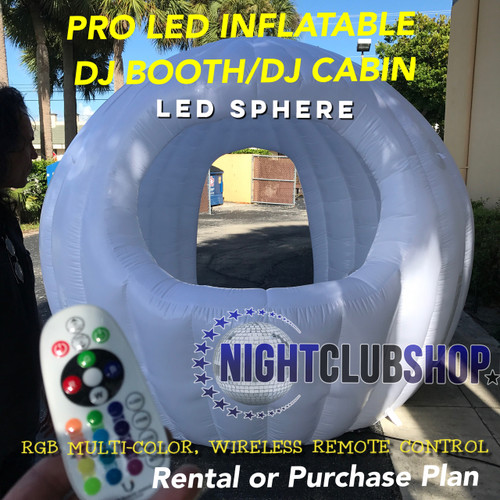 Inflatablr-LED-Glow-Sphere-mobile-Dj-Booth-Cabin