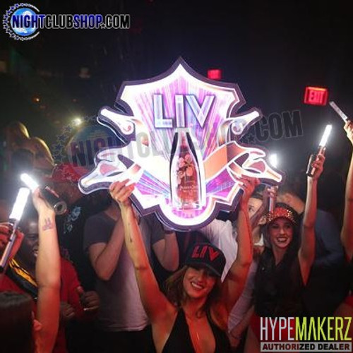 LED, Bottle, Presenter, Royale, Liquor, Delivery, Holder, LIV, VIP, RGB, Remote, Control, RF, Multi-Functions, Nightclubshop, Club, Bar, Casino, Celebration
