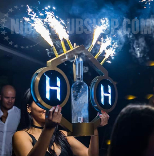 HEX, Universal, VIP, Bottle Service, Delivery, POS, Holder, Carrier, Shield, Presenter, caddy, Tray, Nightclubshop, Nightclub, Supply, supplies, VIP, Table, service, booth