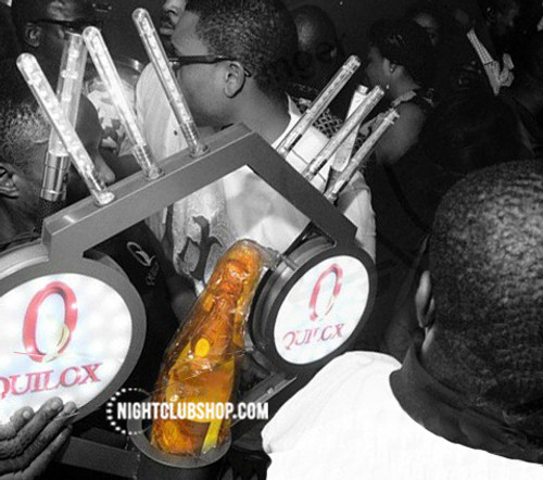 Universal, VIP, Bottle, Service, Delivery, presentation, shield, caddy, tray, chariot