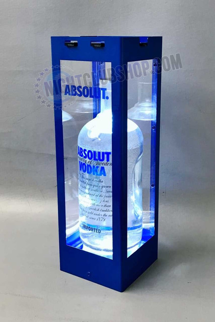 Window, Display, Spirts, Bottle Lock, Locking Cage, LED, VIP,  Acrylic, Absolut, Bar, Nightclub, Lounge, Casino, Durable, High, Quality, patrons, Fancy
