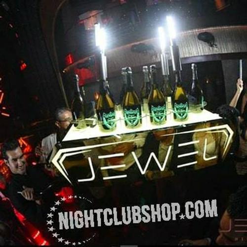 Nightclubshop, LED, Bottle Presenter, Liquor Holder, Champagne Chariot, Server, VIP