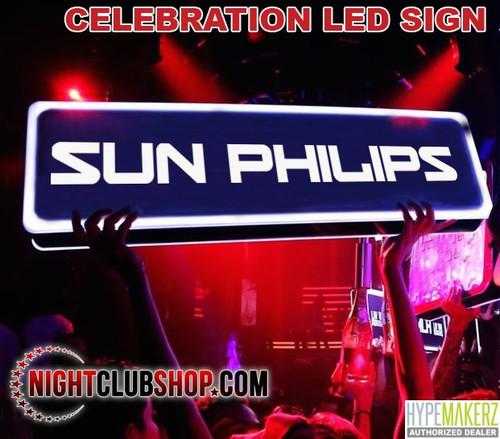 Nightclubshop, Custom, Messeage, Board, LED, On, OFF, VIP, Bottle, Service, Presenter, Huge, Enormous, Sign