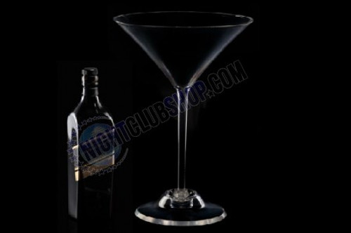 Martini,Glass, Huge, Jumbo, Small, Large, XL, Cocktail, Drink, Actual, Size, Table, Presenter, Decor