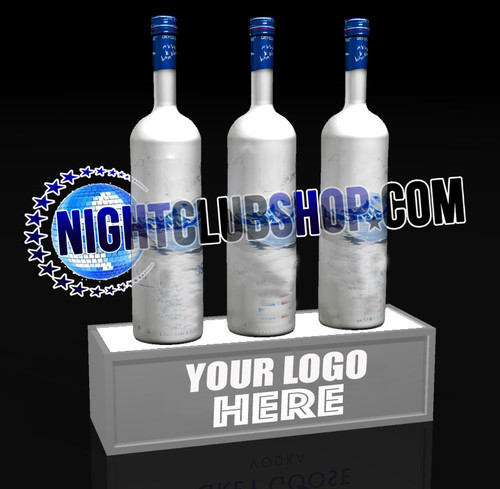 LED, Bottle, Display, stand, base, light up, POS, Brand, Glorifier, Liquor, Rum, Vodka, Beer, Spirits, Nightclub, Shop