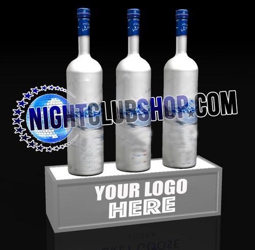 LED, Bottle, Display, stand, base, light up, POS, Brand, Glorifier, Liquor, Rum, Vodka, Beer, Spirits, Nightclub, Shop