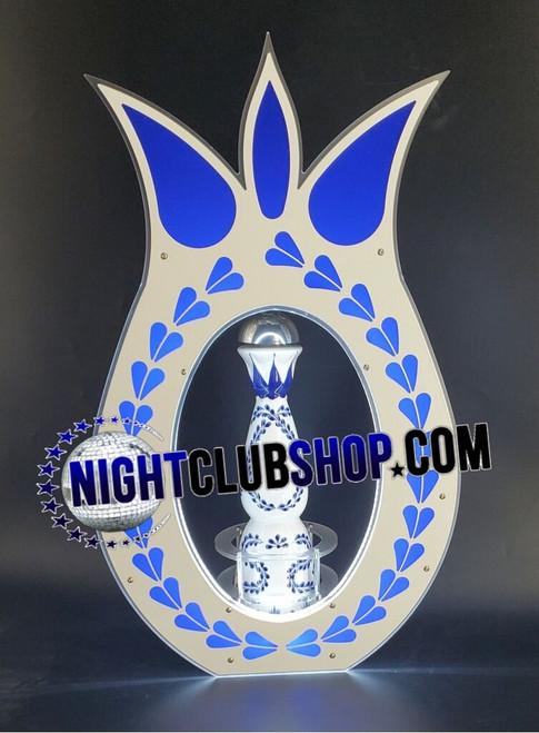 Clase, Azul, ClaseAzul,  Bottle, Presenter, Tequila, Blue, Bottle service,  LED, Glow,Light Up ,BottleShield, Bottle presenter