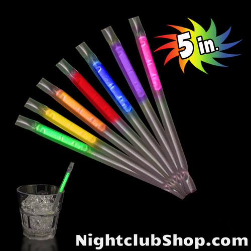 GLOW MOTION STRAWS PARTIES RAVES NIGHT CLUBS