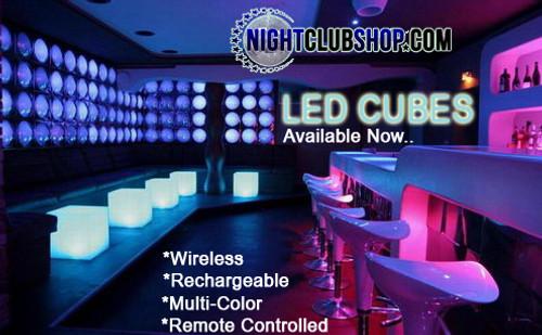 LED, GLOW, CUBE, Wireless cube, Pool Cube, Glow Furniture
