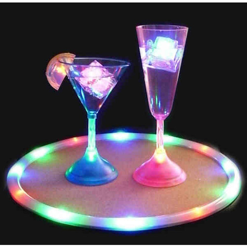 LED, TRAY, service, caddy, RGB, Color, serving tray, drink