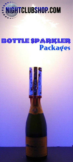 CHAMPAGNE-BOTTLE -SPARKLERS -WITH -FREE SPARKLER- CLIPS - FREE -SHIPPING VIP -BOTTLE -SERVICE -SPARKLERS  CHAMPAGNE -BOTTLE SPARKLERS- WITH -CLIPS, FREE USA SHIPPING -From -NightclubShop!