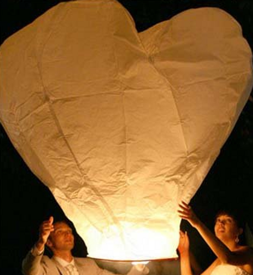 sky, lantern, ufo, celebration, wedding, balloons, flying, colored, 3d heart sky lantern, sky lantern, flower lantern, Chinese lantern, wedding favors, party favors, unique party favor, IN MEMORY OF THOSE SKY LANTERN
