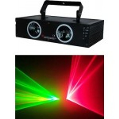 Double, dual, laser, RGB, dual laser, stage, show, prop