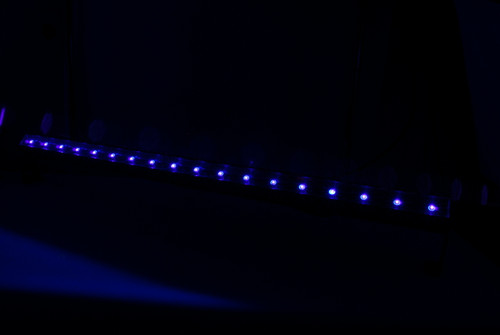 SlimSTRIP UV-18 IRC BLACKLIGHT, UV, Black, light, blacklight, LED